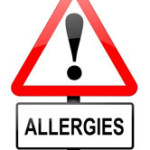 down bedding contributed to allergies