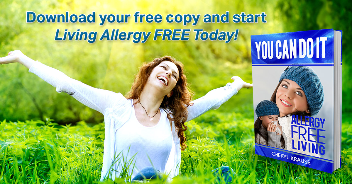 You can do it. Allergy Free living