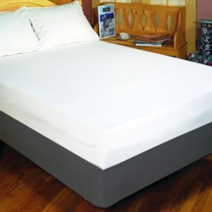 Zippered mattress covers control dust mites