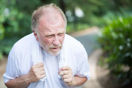 Senior with asthma